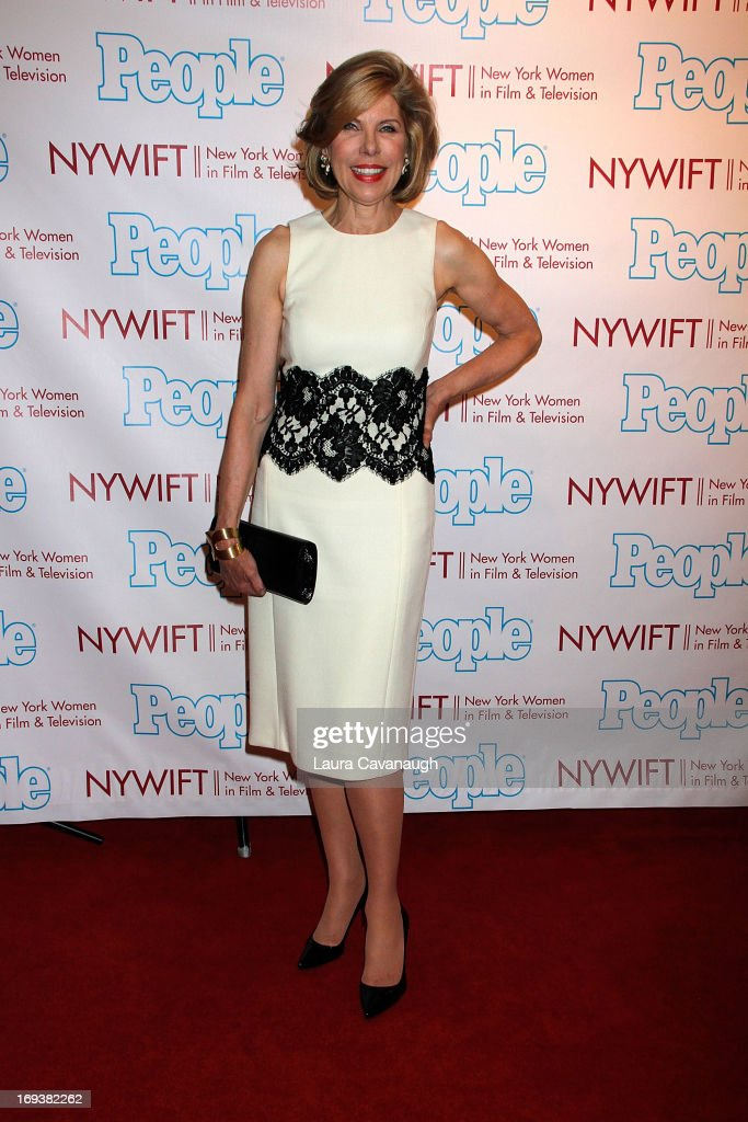 Christine Baranski attends 2013 NYWIFT Designing Women Awards at The McGraw-Hill Building on May 23, 2013 in New York City.