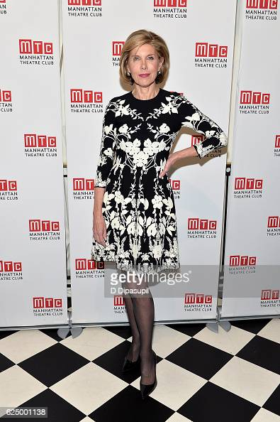 Christine Baranski attends the 2016 Manhattan Theatre Club's Fall Benefit at 583 Park Avenue on November 21 2016 in New York City