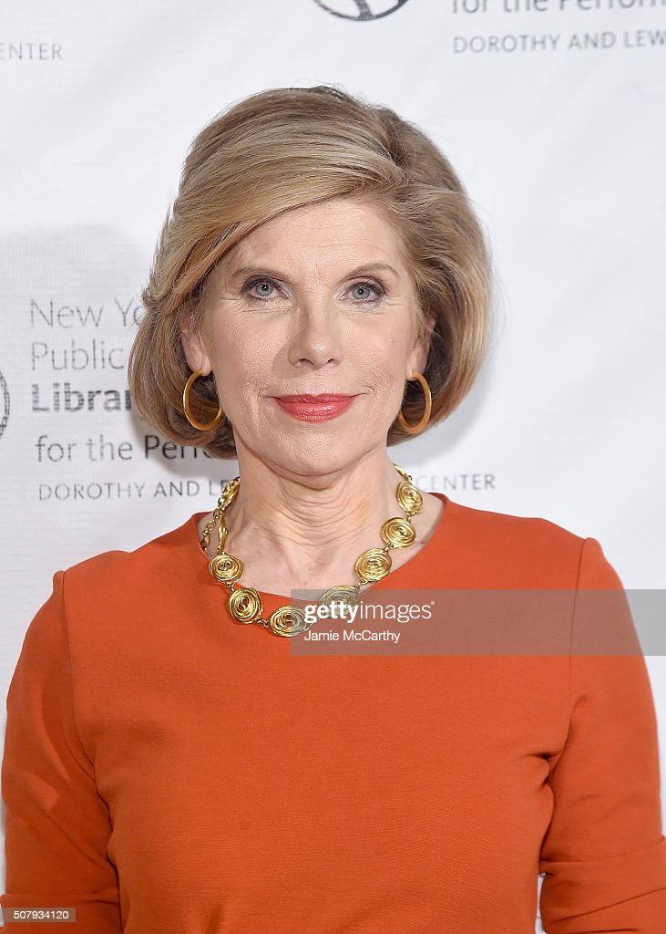 Christine Baranski attends The New York Public Library For The Performing Arts' 50th Anniversary Gala at The New York Public Library - Stephen A. Schwarzman Building on February 1, 2016 in New York City.