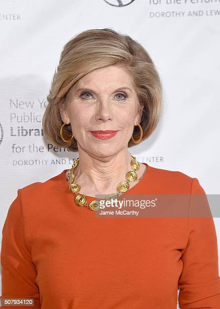 Christine Baranski attends The New York Public Library For The Performing Arts' 50th Anniversary Gala at The New York Public Library Stephen A...