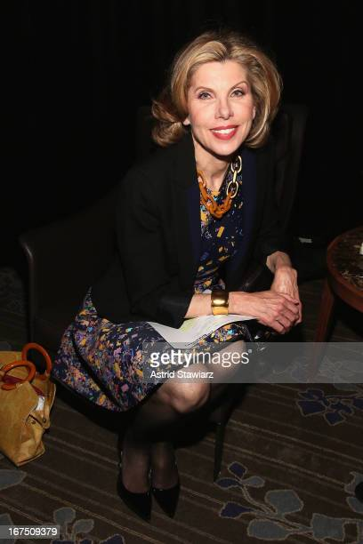 Christine Baranski attends the TFF Awards Night during the 2013 Tribeca Film Festival on April 25 2013 in New York City