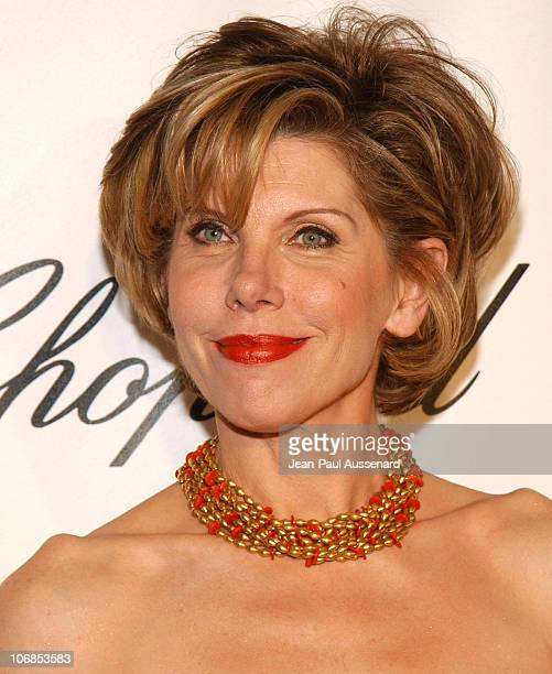 Christine Baranski during 13th Annual Elton John AIDS Foundation Oscar Party Cohosted by Chopard Arrivals at Pacific Design Center in Los Angeles...
