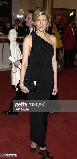 Christine Baranski during 26th Annual Kennedy Center Honors at John F Kennedy Center for the Performing Arts in Washington DC United States