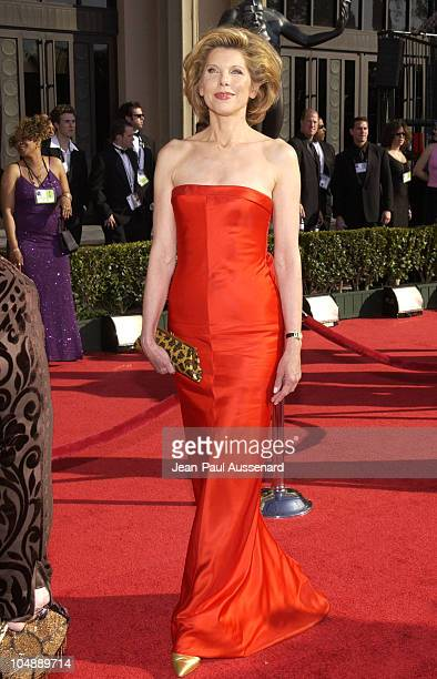 Christine Baranski during 9th Annual Screen Actors Guild Awards Arrivals at Shrine Exposition Center in Los Angeles California United States