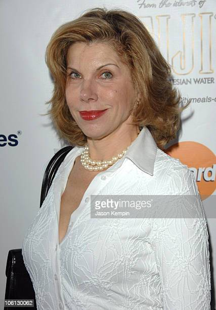 Christine Baranski during CitymealsOnWheels 20th Annual Power Lunch for Women at The Rainbow Room in New York City New York United States