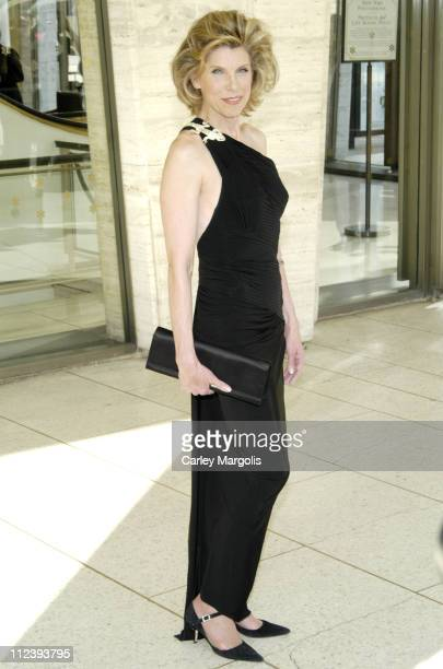 Christine Baranski during Jessica Lange Honored by the Film Society of Lincoln Center April 17 2006 at Avery Fisher Hall in New York City New York...