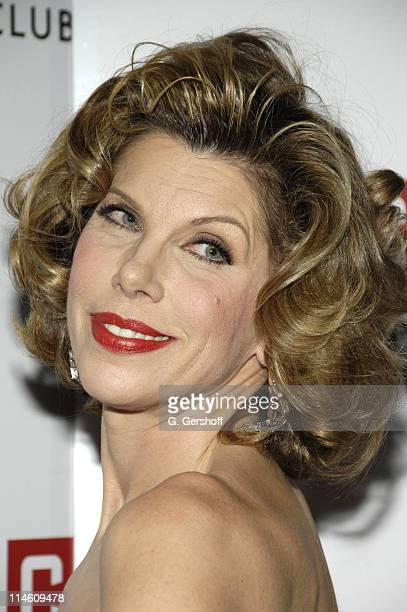 Christine Baranski during Manhattan Theater Club Presents Annual Winter Benefit 'An Intimate Night' A Special OneNightOnly CabaretStyle Show at The...