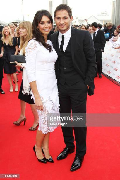 Christine Bleakley and Frank Lampard attend the National Movie Awards 2011 at Wembley arena on May 11 2011 in London England