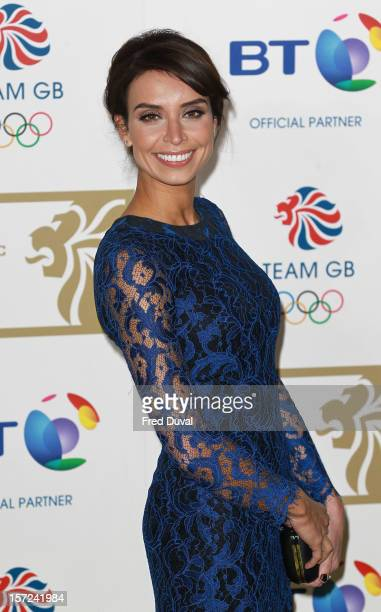 Christine Bleakley attends the British Olympic Ball on November 30 2012 in London England