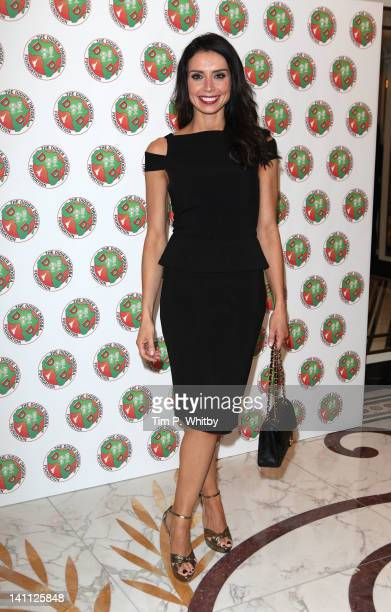 Christine Bleakley attends the Didier Drogba Foundation Charity Ball at Dorchester Hotel on March 10 2012 in London England