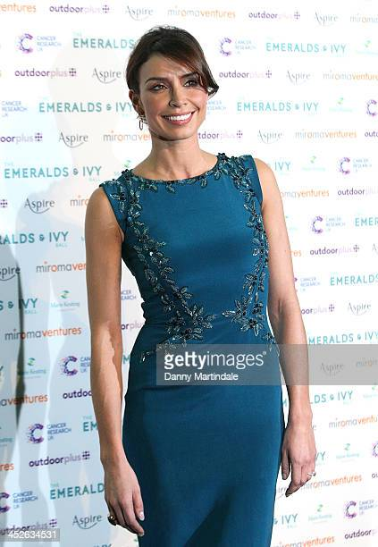 Christine Bleakley attends The Emeralds And Ivy Ball at Old Billingsgate Market on November 30 2013 in London England
