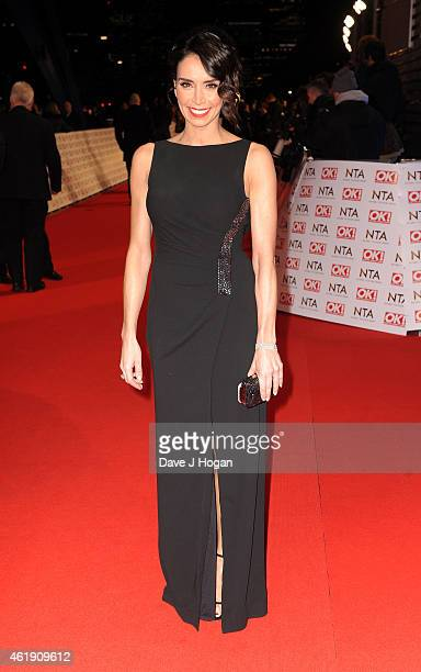Christine Bleakley attends the National Television Awards at 02 Arena on January 21 2015 in London England