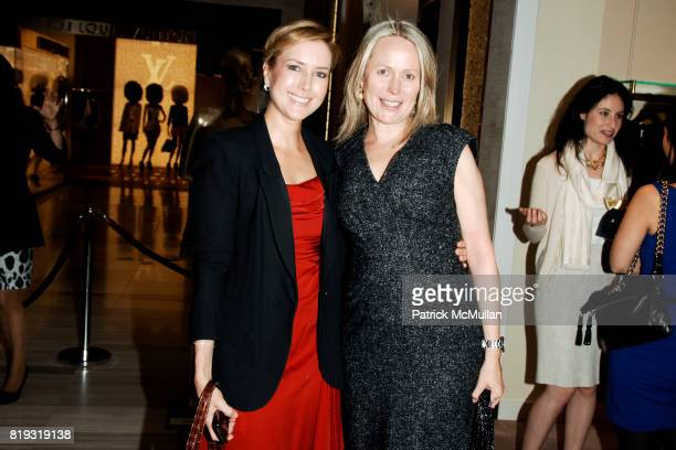 Christine Cachot and Patricia Harteneck attend SAKS FIFTH AVENUE VALENTINO Host a Dinner to benefit SAVE VENICE at Saks Fifth Avenue on April 14 2010...