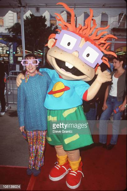 Christine Cavanaugh during 'Rugrats' World Premiere at Manns Chinese Theater in Hollywood California United States