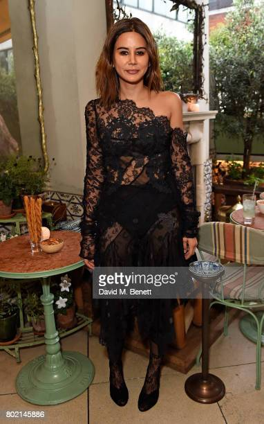 Christine Centenera attends an intimate dinner hosted by Nicky Zimmermann and Margot Robbie to celebrate the opening of the Zimmermann London...