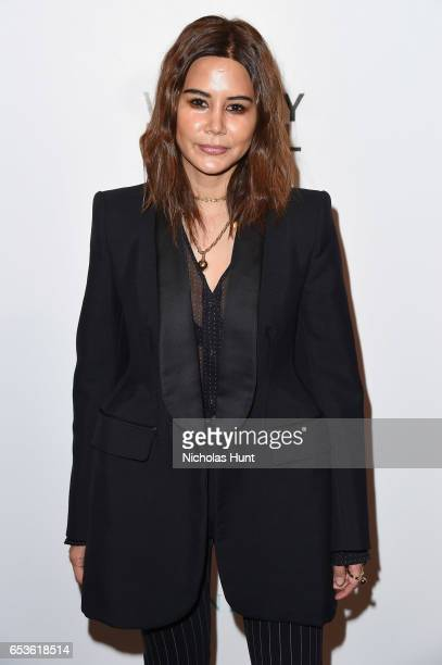 Christine Centenera attends the 2017 Whitney Biennial presented by Tiffany Co at The Whitney Museum of American Art on March 15 2017 in New York City