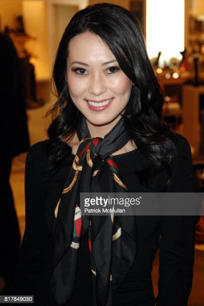 Christine Chiu attends Manolo Blahnik In Person at Neiman Marcus at Neiman Marcus on October 7 2010 in Beverly Hills California