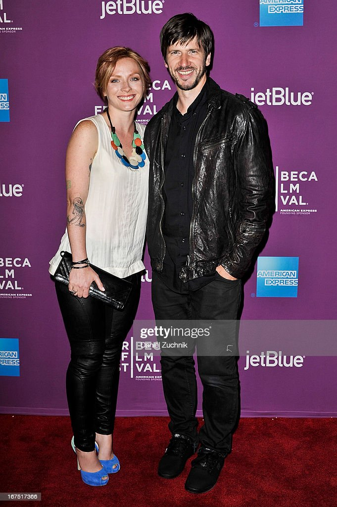 Christine Cole and Chris Cole attend the premiere of 'The Motivation' during the 2013 Tribeca Film Festival at SVA Theater on April 25, 2013 in New York City.