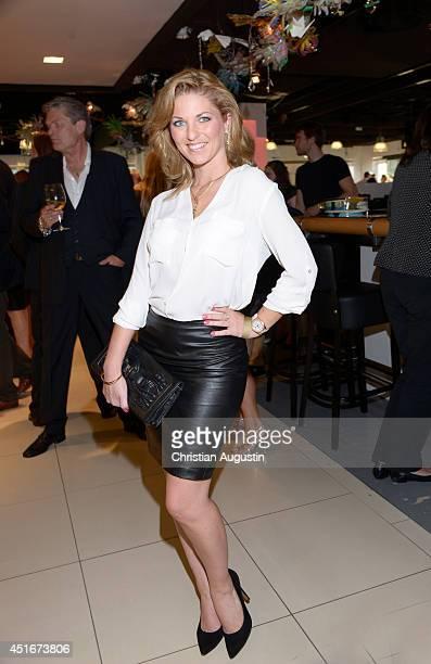 Christine Deck attends the the Moet Chandon Ice Imperial Summer Bash at Alsterhaus on July 3 2014 in Hamburg Germany