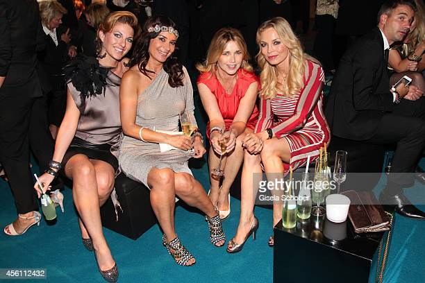 Christine Deck Gitta Saxx Tina Ruland and Regina Halmich attend Tribute To Bambi 2014 after show party at Station on September 25 2014 in Berlin...