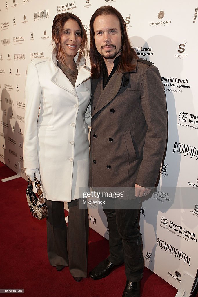 <a gi-track='captionPersonalityLinkClicked' href=/galleries/search?phrase=Christine+Devine&family=editorial&specificpeople=2179636 ng-click='$event.stopPropagation()'>Christine Devine</a> and Sean McNabb attend Los Angeles Confidential Celebrates 10th Anniversary presented by Merrill Lynch Wealth Management at SupperClub Los Angeles on December 1, 2012 in Los Angeles, California.