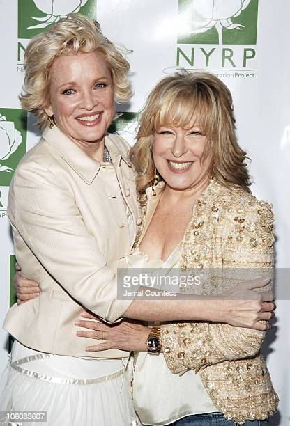 Christine Ebersol and Bette Midler during Bette Midler's New York Restoration Project's 5th Annual Picnic at Highbridge Park in New York City New...