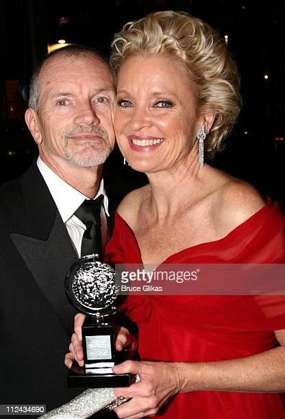 Christine Ebersole and husband Bill during 61st Annual Tony Awards After Party at Radio City Music Hall in New York City New York United States