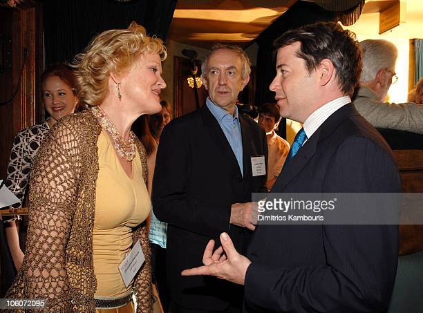 Christine Ebersole and Matthew Broderick during 60th Annual Tony Awards Reunion Photo at Shubert Theatre in New York City New York United States