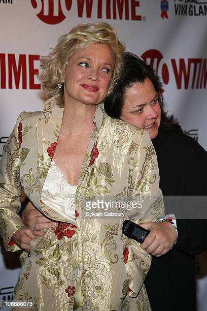 Christine Ebersole and Rosie O'Donnell during 'Liza With A 'Z'' Restored And Remastered Premiere Arrivals at Ziegfeld Theater in New York New York...