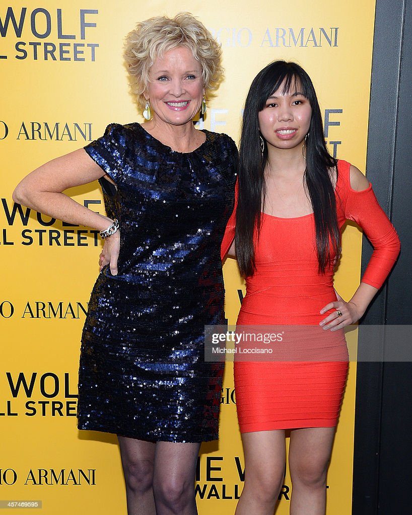 <a gi-track='captionPersonalityLinkClicked' href=/galleries/search?phrase=Christine+Ebersole&family=editorial&specificpeople=214025 ng-click='$event.stopPropagation()'>Christine Ebersole</a> (L) attends the 'The Wolf Of Wall Street' premiere at the Ziegfeld Theatre on December 17, 2013 in New York City.