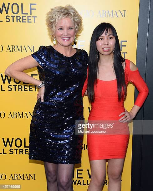 Christine Ebersole attends the 'The Wolf Of Wall Street' premiere at the Ziegfeld Theatre on December 17 2013 in New York City