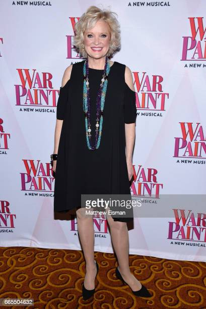 Christine Ebersole attends the 'War Paint' Broadway opening night after party at Gotham Hall on April 6 2017 in New York City