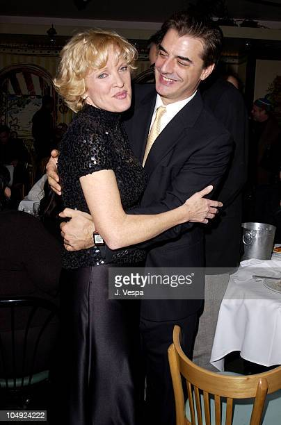 Christine Ebersole Chris Noth during Christine Ebersole Opening Night of her New York Cabaret Debut at Arcis Place Supper Club Cabaret in New York...