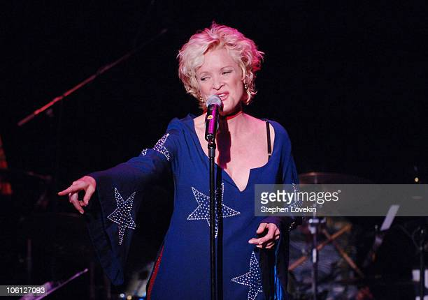 Christine Ebersole during Actor's Fund Benefit with Christine Ebersole at New World Stages in New York City New York United States