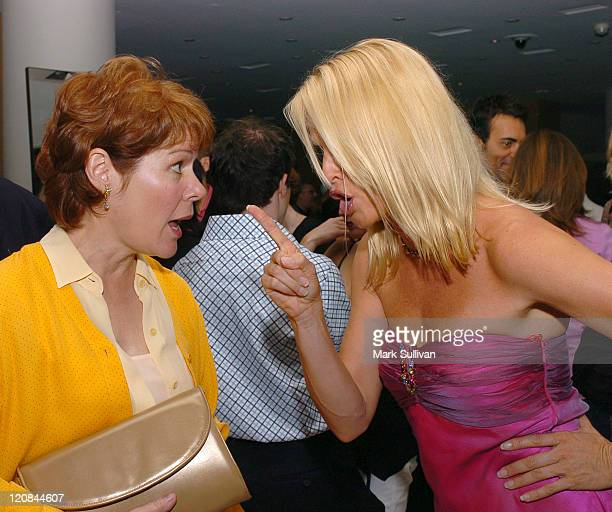 Christine Estabrook and Nicollette Sheridan during 'Desperate Housewives' Series Premiere Party Inside at Barney's in Beverly Hills California United...