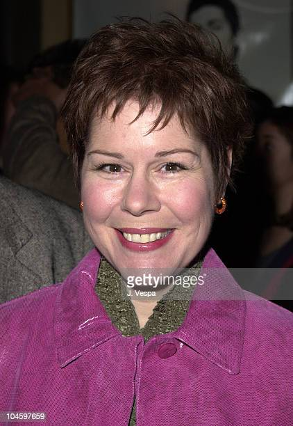 Christine Estabrook during WB Network All Star Party at Il Fornaio Restaurant in Pasadena California United States