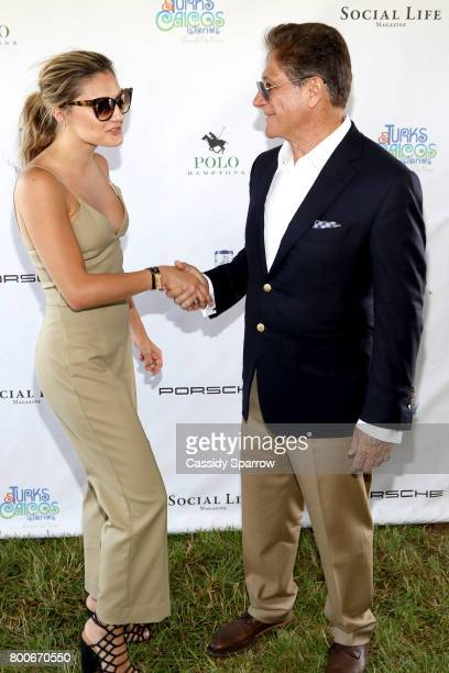Christine Evangelista and Dr Nicholas Perricone attend the 2017 Polo Hamptons at Southampton Polo Club on June 24 2017 in New York City