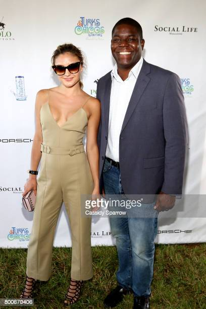 Christine Evangelista and Ramon Andrews attend the 2017 Polo Hamptons at Southampton Polo Club on June 24 2017 in New York City