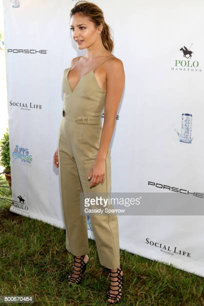 Christine Evangelista attends the 2017 Polo Hamptons at Southampton Polo Club on June 24 2017 in New York City