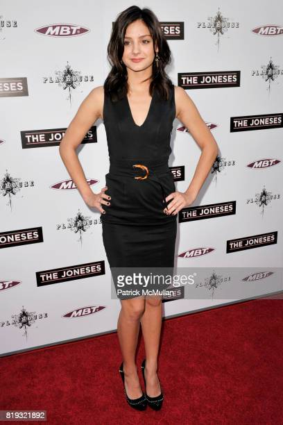 Christine Evangelista attends 'The Jonses' Los Angeles Premiere at ArcLight Cinemas on April 8 2010 in Hollywood California