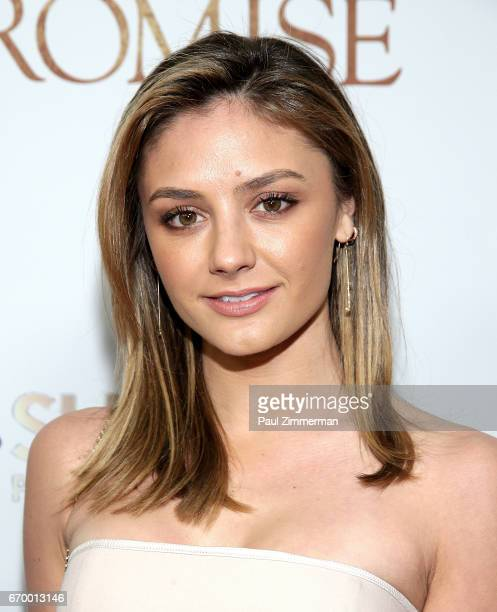 Christine Evangelista attends 'The Promise' New York Screening at Paris Theatre on April 18 2017 in New York City