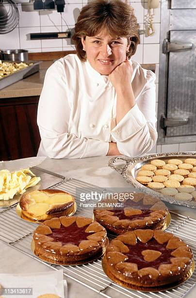 Christine Ferber France Best Confectioner On November 12th 1997 In France