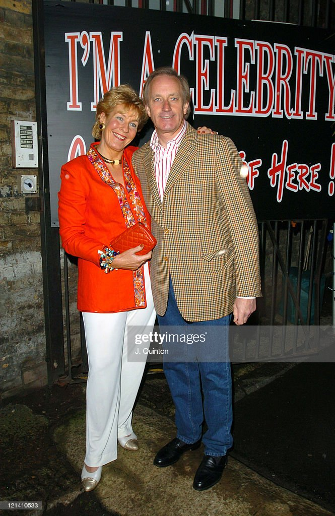 Christine Hamilton and Neil Hamilton during 'I'm A CelebrityGet Me Out Of Here' Third Anniversary Party at Delfina Gallery in London Great Britain