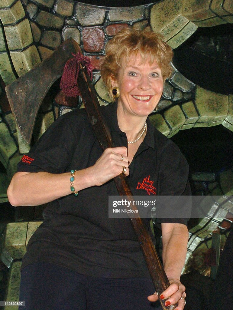 Christine Hamilton Launches the London Dungeon: Labyrinth of the Lost