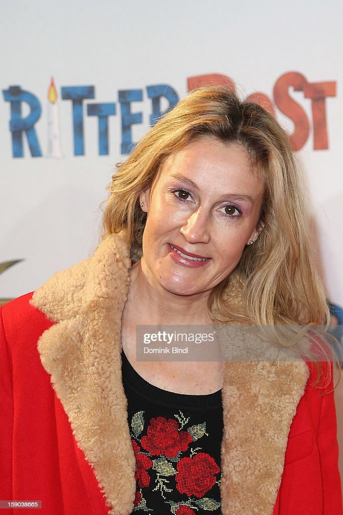 Christine Hartmann attends the Ritter Rost Premiere on January 6, 2013 in Munich, Germany.