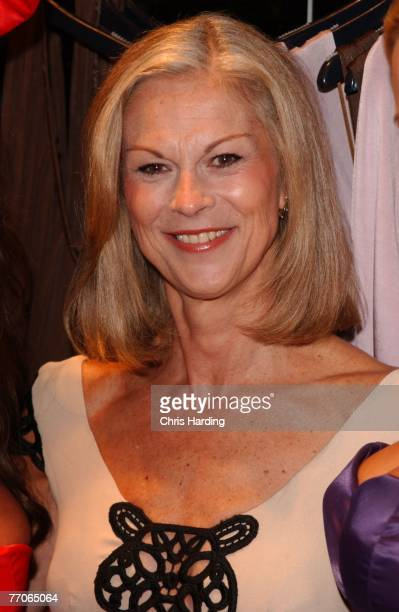 Christine Hefner celebrates the launch of the first Playboy London shop on September 27 2007 in London England