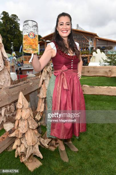 Christine Henning during the ProSieben Sat1 Wiesn as part of the Oktoberfest 2017 at Kaefer Tent on September 17 2017 in Munich Germany