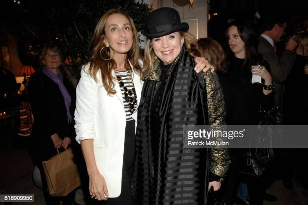 Christine Juarez and Marcia Sherrill attend Book Party for BOBBY MCALPINE'S 'THE HOME WITHIN US' from RIZZOLI at Treillage on May 18th 2010 in New...
