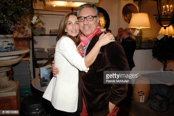 Christine Juarez and Miguel FloresVianna attend Book Party for BOBBY MCALPINE'S 'THE HOME WITHIN US' from RIZZOLI at Treillage on May 18th 2010 in...