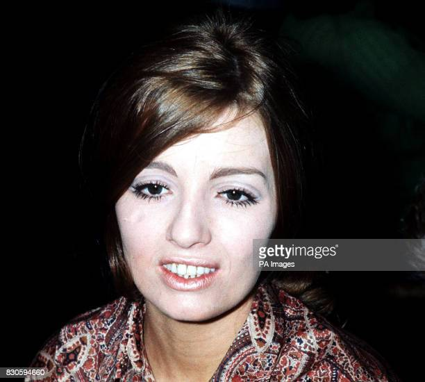 Christine Keeler attends the preview of photographer David Bailey's new book 'Goodbye Baby Amen' Christine is one of the girls who appears in the...